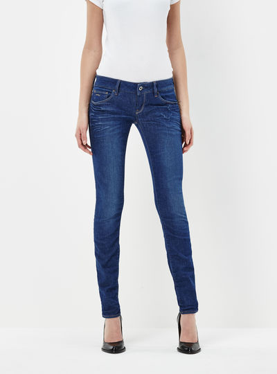 3301 Low Super Skinny Jeans