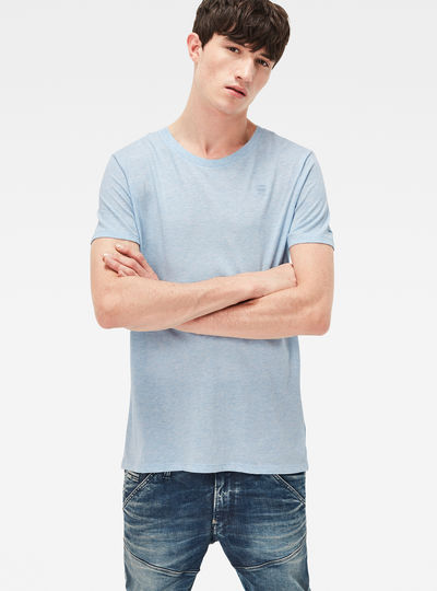 Base Heather Round Neck T-Shirt 2-Pack