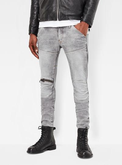 5620 3D Zip Knee Jeans