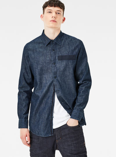 MT Denim Straight Shirt
