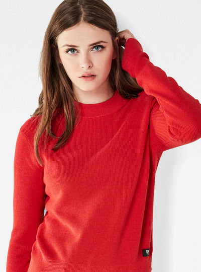 Exly Knit Cropped Pullover