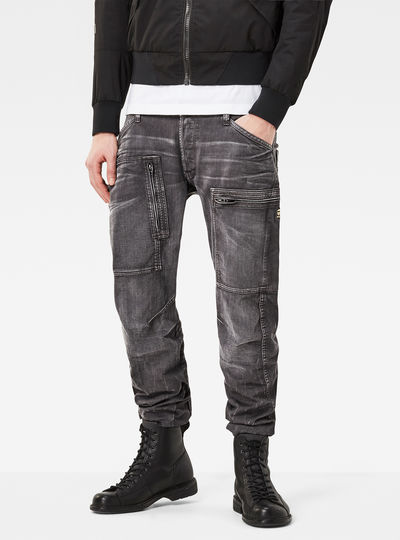 Powel 3D Tapered Color Jeans