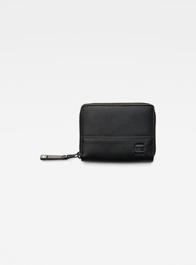 Cart Leather Zipper Wallet