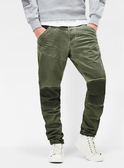 5620 3D Tapered Trainer Color Jeans