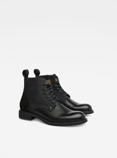 Frock Denim Boots