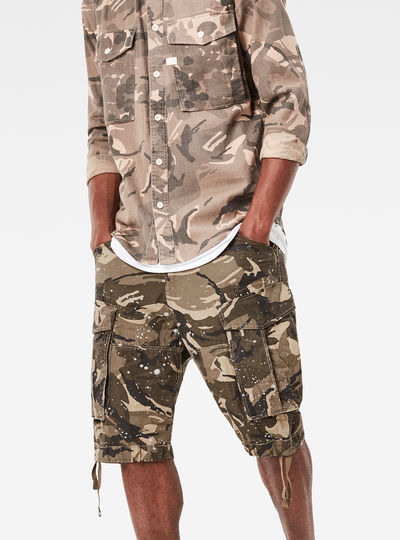 Rovic Loose 1/2-Length Shorts