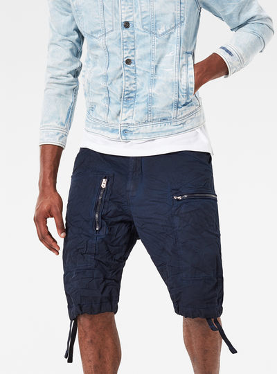 Powel Loose 1/2-Length Shorts