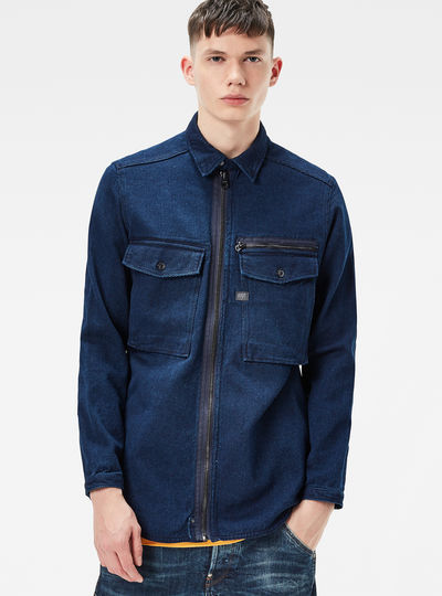 Type C Zip Overshirt