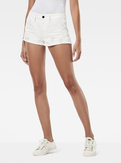 3301 Moto-Restored Mid Waist Shorts