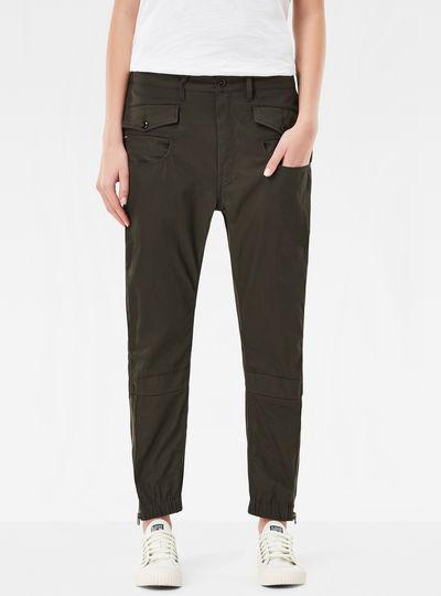 Army Radar Loose Cropped Pants