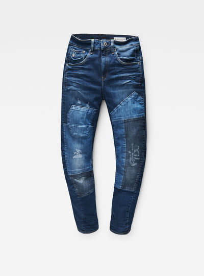 Modern Arc 3D Mid Waist Boyfriend Jeans