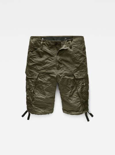 Rovic Loose 1/2-Length Cargo Shorts