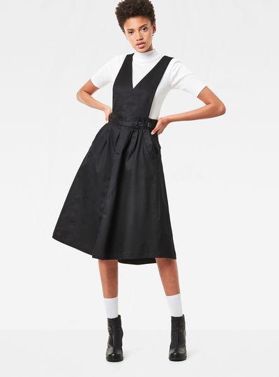 Bronson Army Deep-V Dress